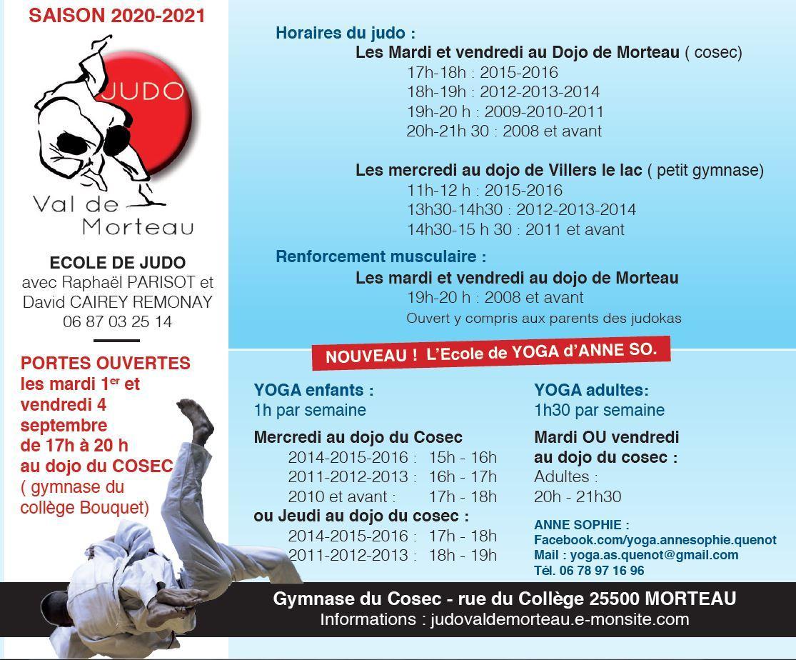 Info judo 2020 2021